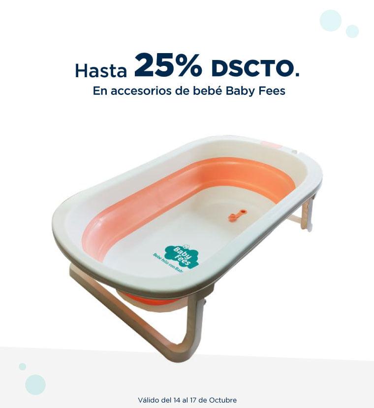 Hasta 25% de descuento en Accesorios de bebe Baby fees