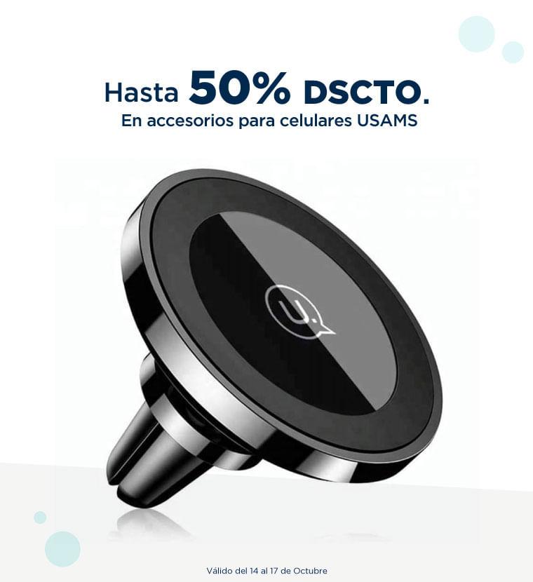 Hasta 50% de descuento en Accesorios para celulares USAMS