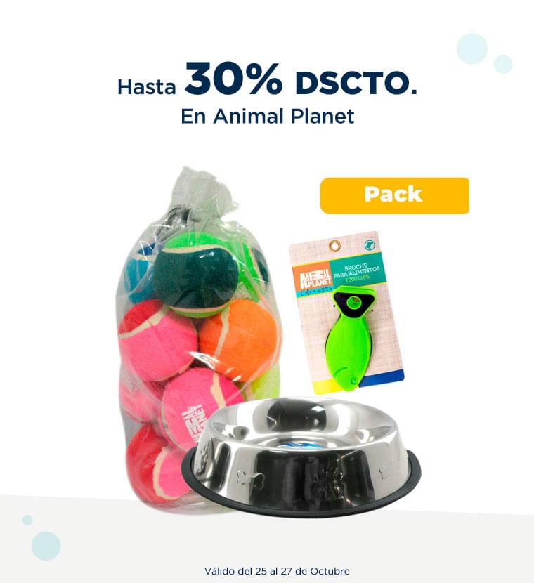 Hasta 30% de descuento en Animal Planet