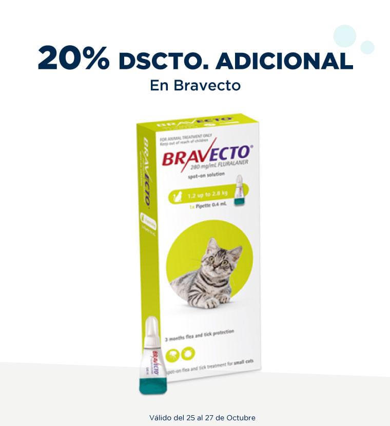 20% de descuento adicional en Bravecto