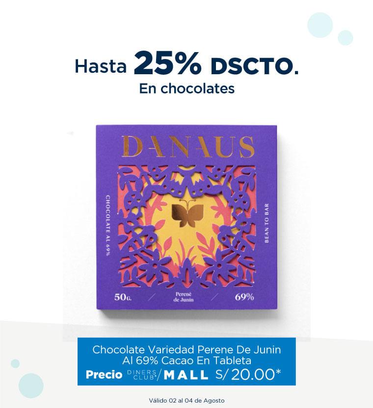 Hasta 20% de descuento en Chocolates