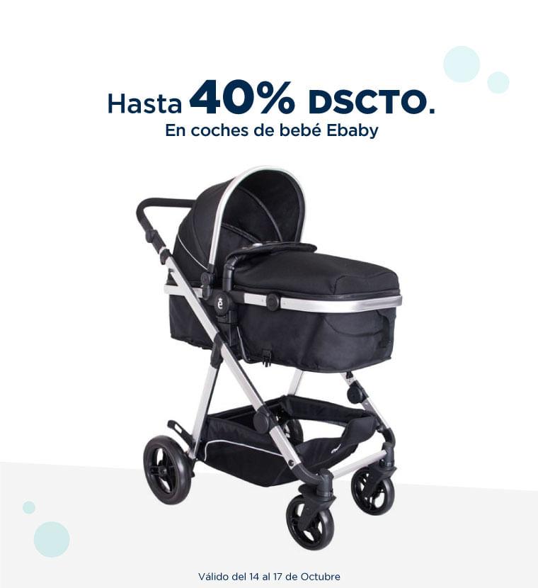 Hasta 40% de descuento en Coches de bebe Ebaby