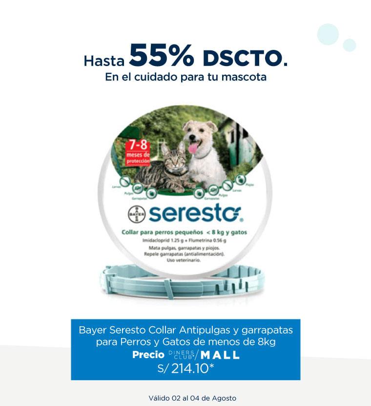 Hasta 55% de descuento en el cuidado de mascotas