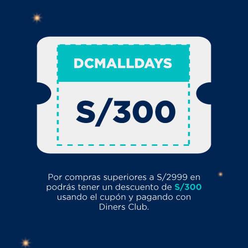 cupón DCMALLDAYS
