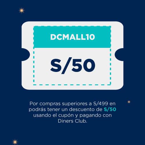 cupón DCMALL10