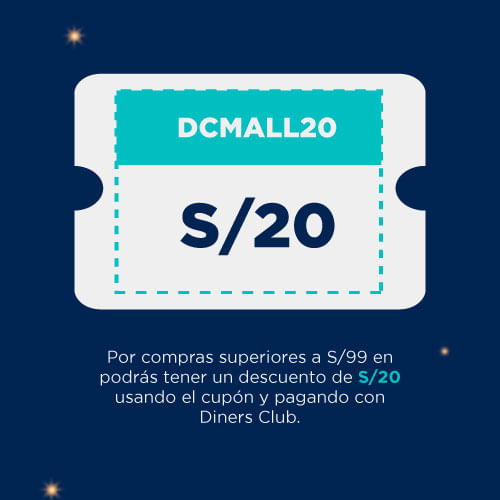 cupon DCMALL20