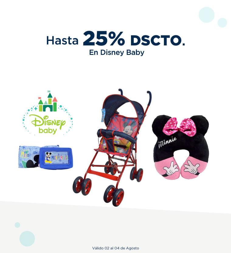 Hasta 25% de descuento en Dinsey Baby
