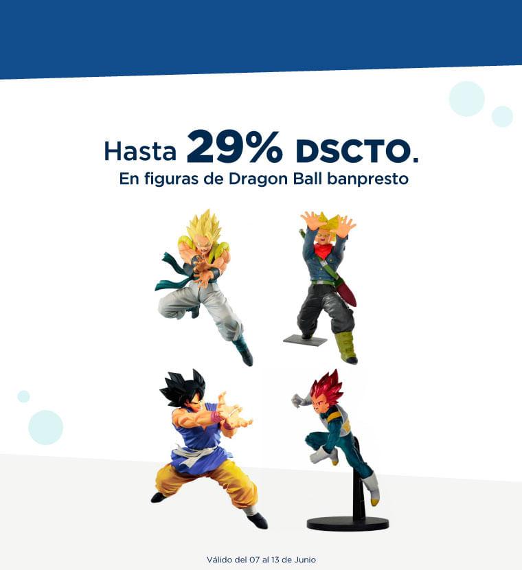 Hasta 29% de descuento en Dragon Ball banpresto