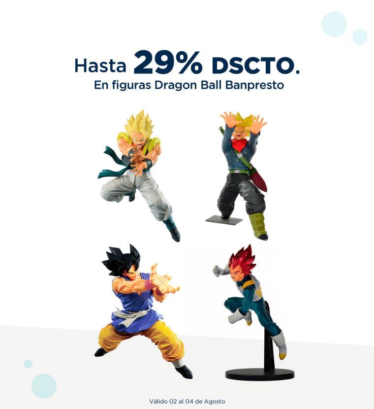 Hasta 29% de descuento en Figuras de Dragon Ball