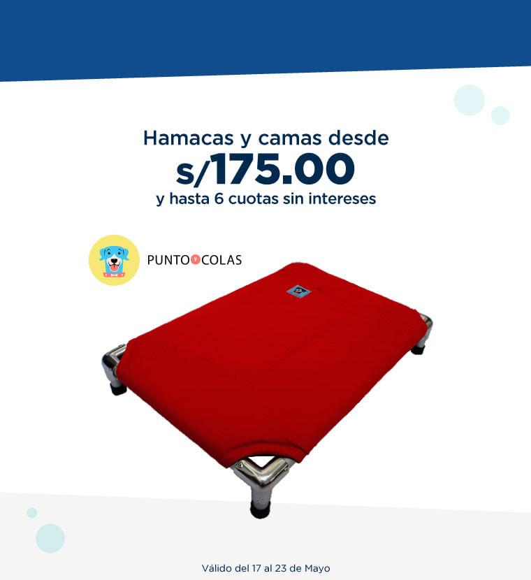 Hamacas y Camas desde S/. 175.00