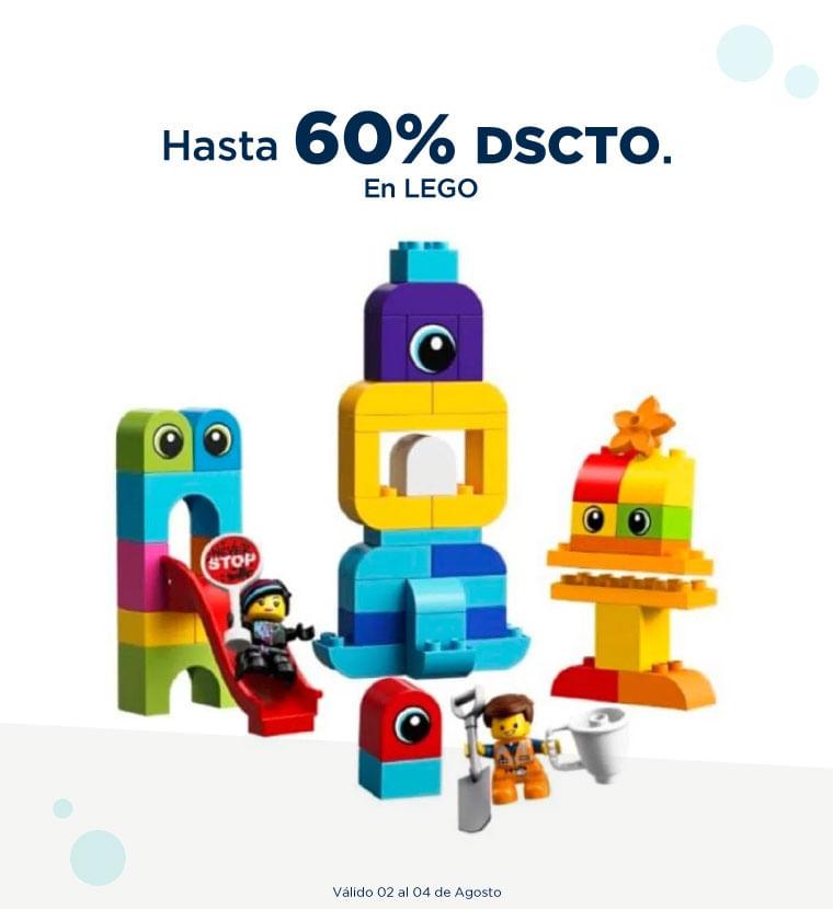 Hasta 60% de descuento en Lego