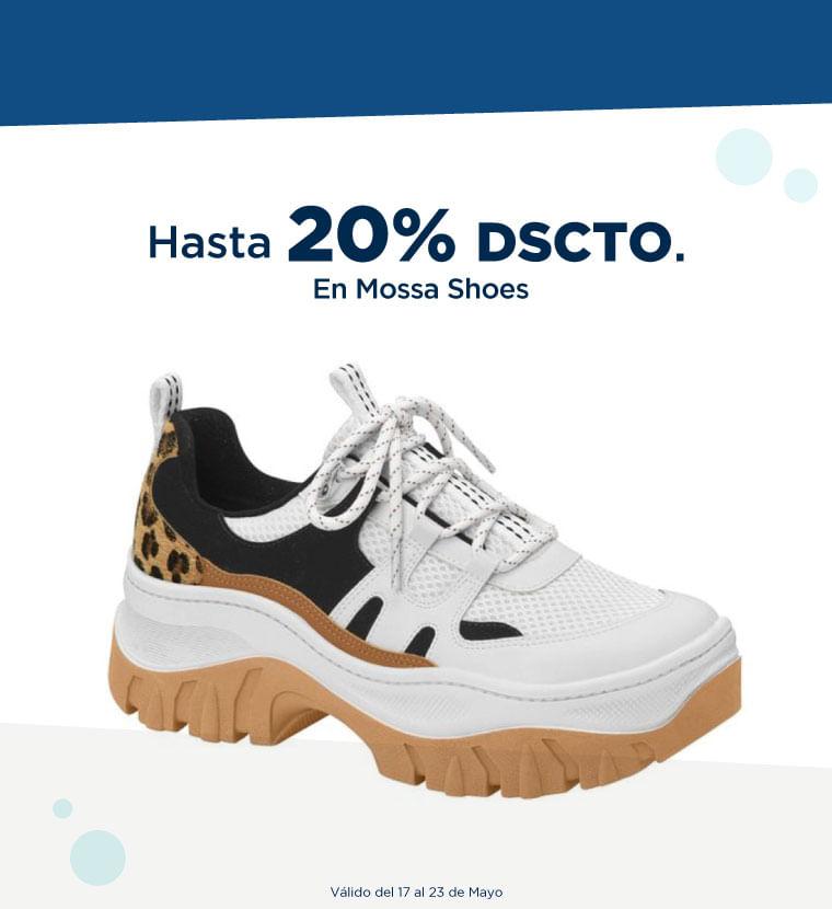 Hasta 20% de descuento en Mossa Shoes
