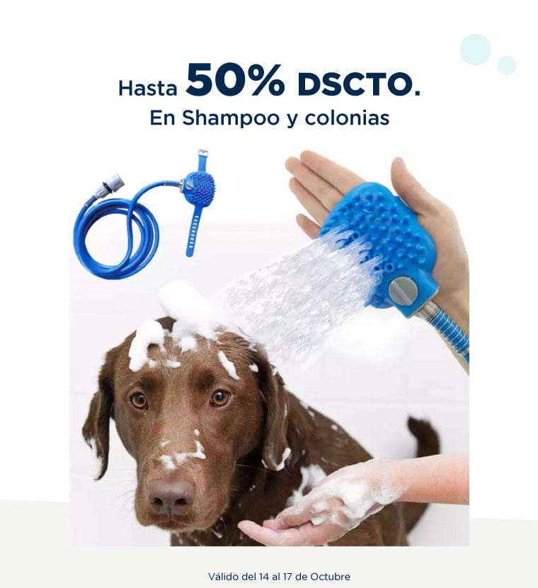 Hasta 50% de descuento adicional en Shampoo y colonias