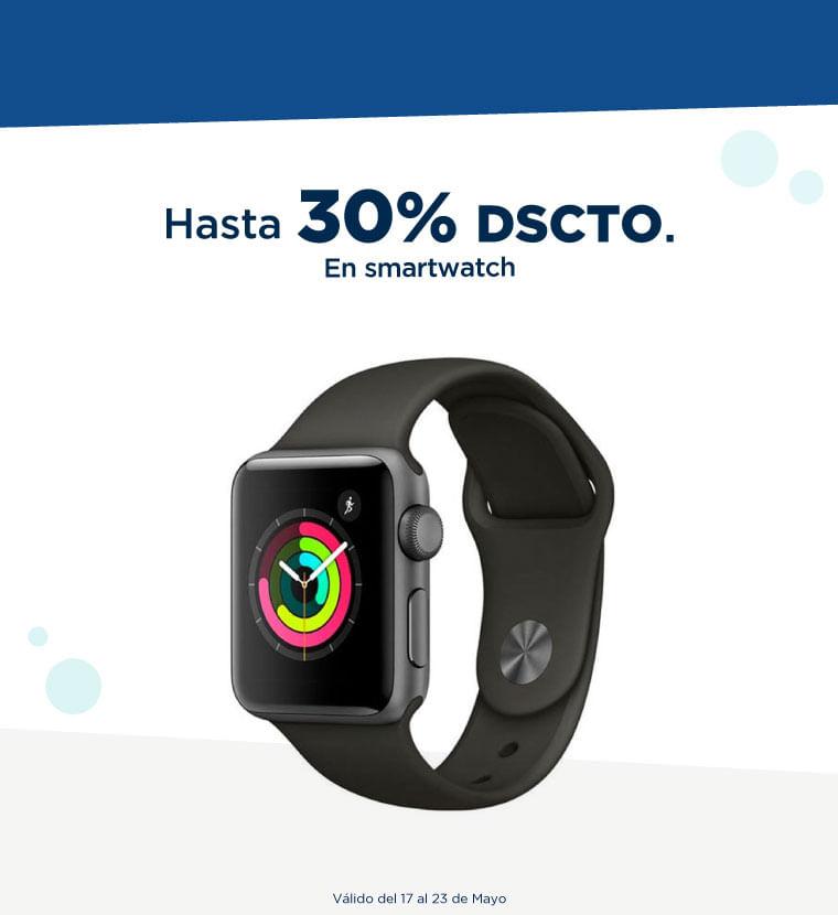 Hasta 30% de descuento en Smartwatch