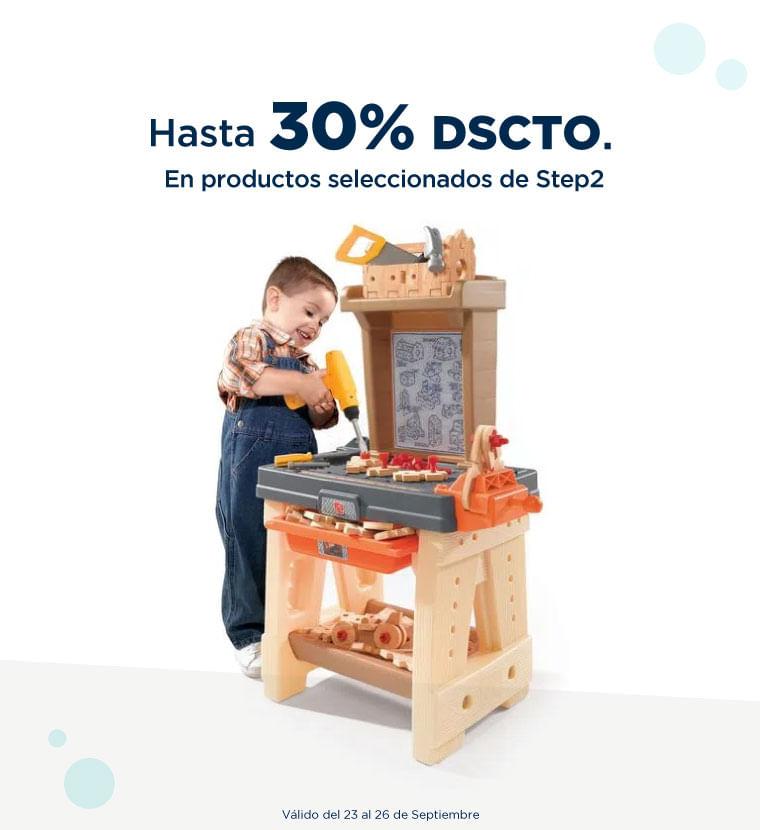 Hasta 30% de descuento en Productos seleccionados de Step2