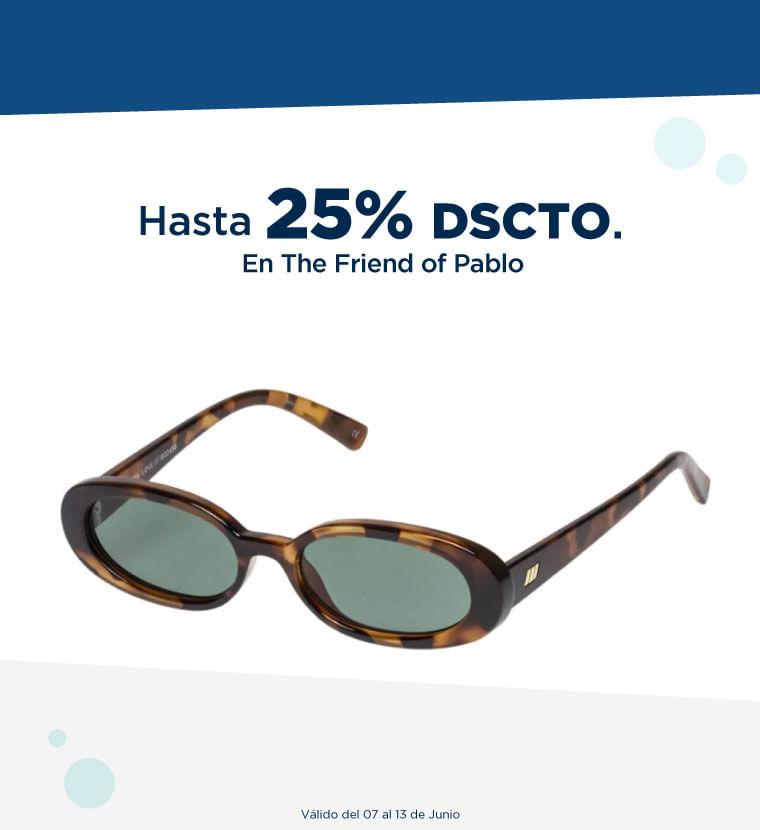 Hasta 25% de descuento en Friend of Pablo